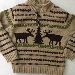 🔵3/$25 SALE Janie & Jsck Boys Lined Sweater Thick